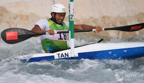 皮划艇激流回旋——男子单人划艇赛况