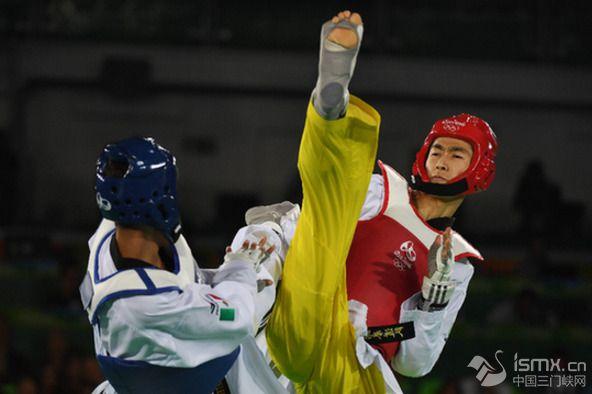 快讯:跆拳道男子58公斤级半决赛 赵帅成功晋级