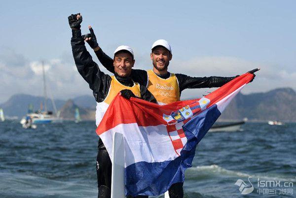 里约奥运会帆船帆板最后四金瓜分完毕