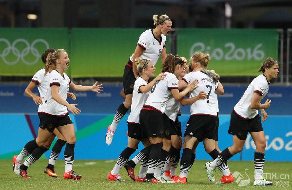 德国女足或将品尝奥运首金滋味