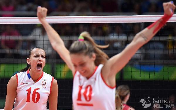 塞尔维亚队3:2力克美国队历史性闯入奥运决赛