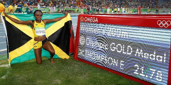 神奇!奥运双金王汤普森的急速攀升