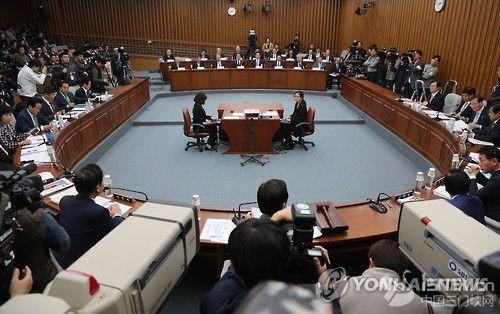 """朴槿惠""""闺蜜""""缺席国会第二次听证会"""