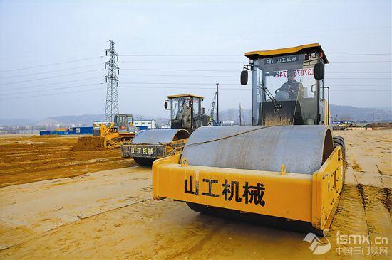 """锦江集团大宗商品物流产业园项目正在加紧建设"""""""