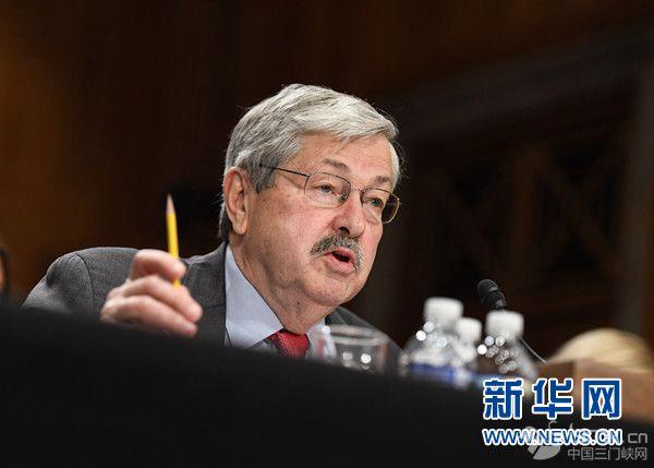 美参院批准布兰斯塔德出任新任驻华大使