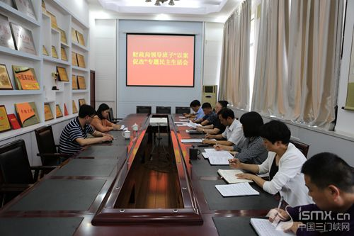 渑池县财政局领导班子召开以案促改专题民主生活会