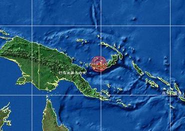 巴布亚新几内亚中部发生6级地震