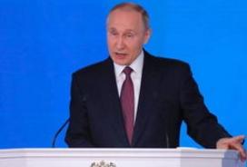 普京号召俄公民积极参与总统选举投票