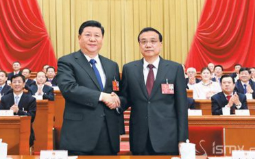 根据国家主席习近平的提名决定李克强为国务院总理