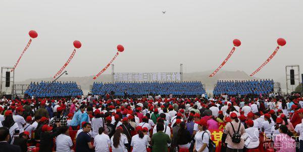 第五届中国(三门峡)黄河大合唱艺术节圆满落幕(组图)