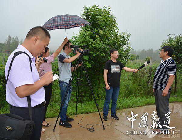 """河南:省市媒体聚焦灵宝阳店镇采访脱贫攻坚""""特色亮点"""""""""""
