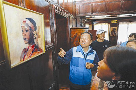 肯尼亚卡琳故居迎来中国志愿讲解员