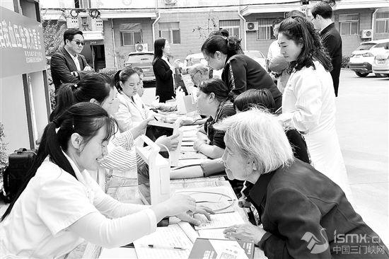 """灵宝市开展第21个""""全国高血压日""""宣传活动"""""""