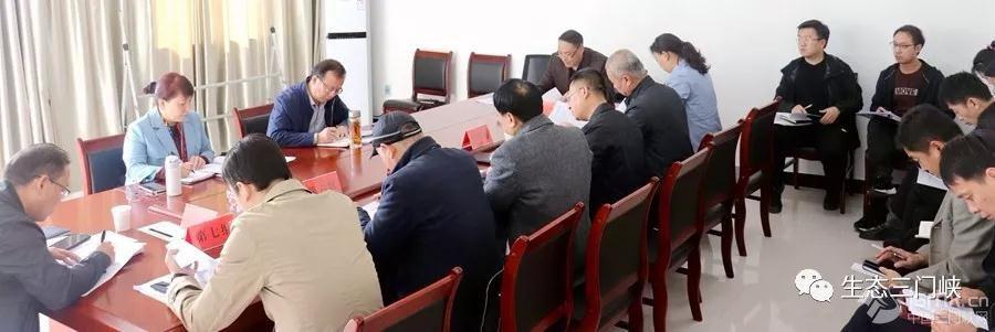 """三门峡市副市长万战伟听取""""三散""""督查工作汇报"""