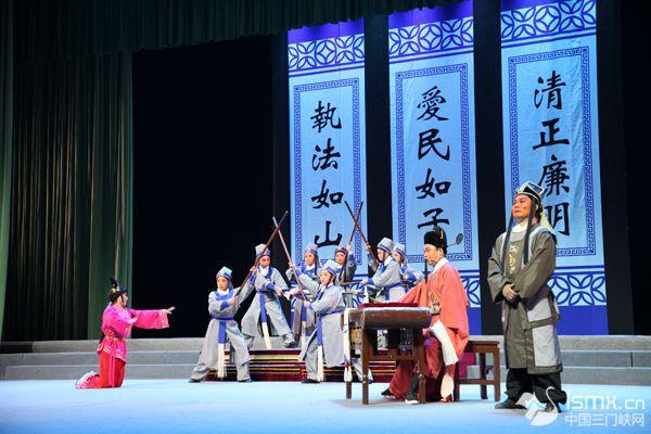 央视录制三门峡市大型廉政古装剧《河阳之府》