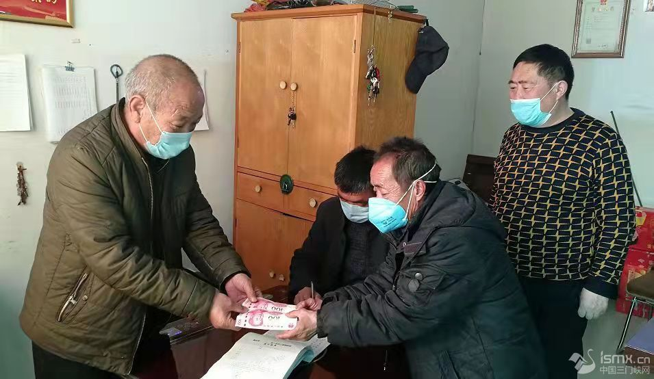 """�村�l(xiang)�U一(yi)份�碜�139�裘��群�的抗疫(yi)捐款"""""""