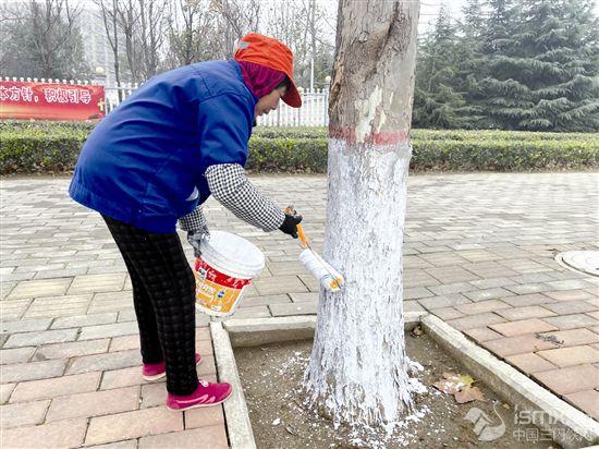"""树木涂白 安全越冬"""""""