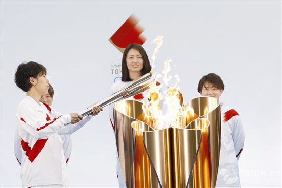 东京奥运会火炬传递福岛开跑