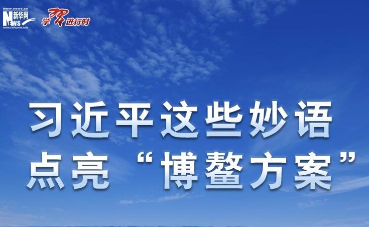 """(学习进行时)习近平这些妙语,点亮""""博鳌方案"""""""