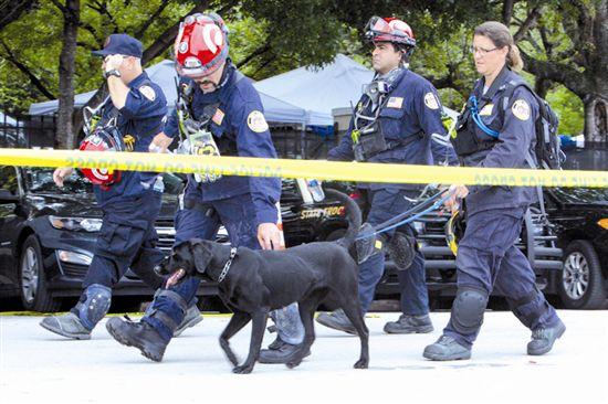 美国救援人员停止搜寻幸存者