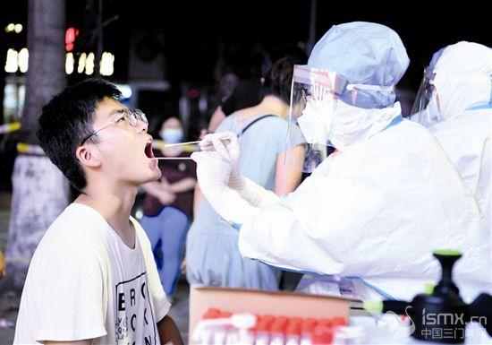 郑州二七区开展全员核酸检测