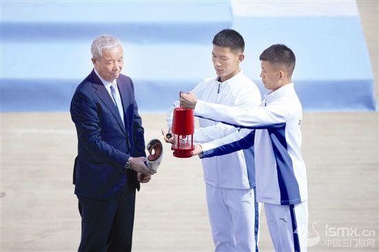 奥运火种即将再次来到中国