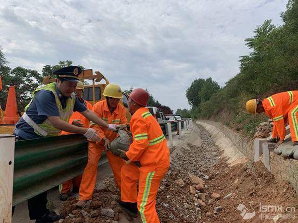 河南交投交通建设集团有限公司豫西分公司全力做好夏季防汛工作