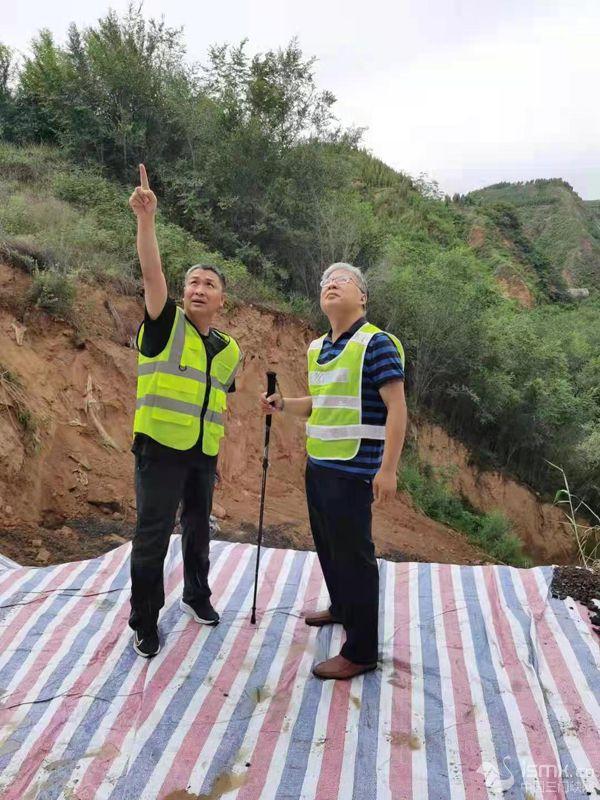 河南交投交通建设集团有限公司豫西分公司:持续战斗在防汛抢险第一线